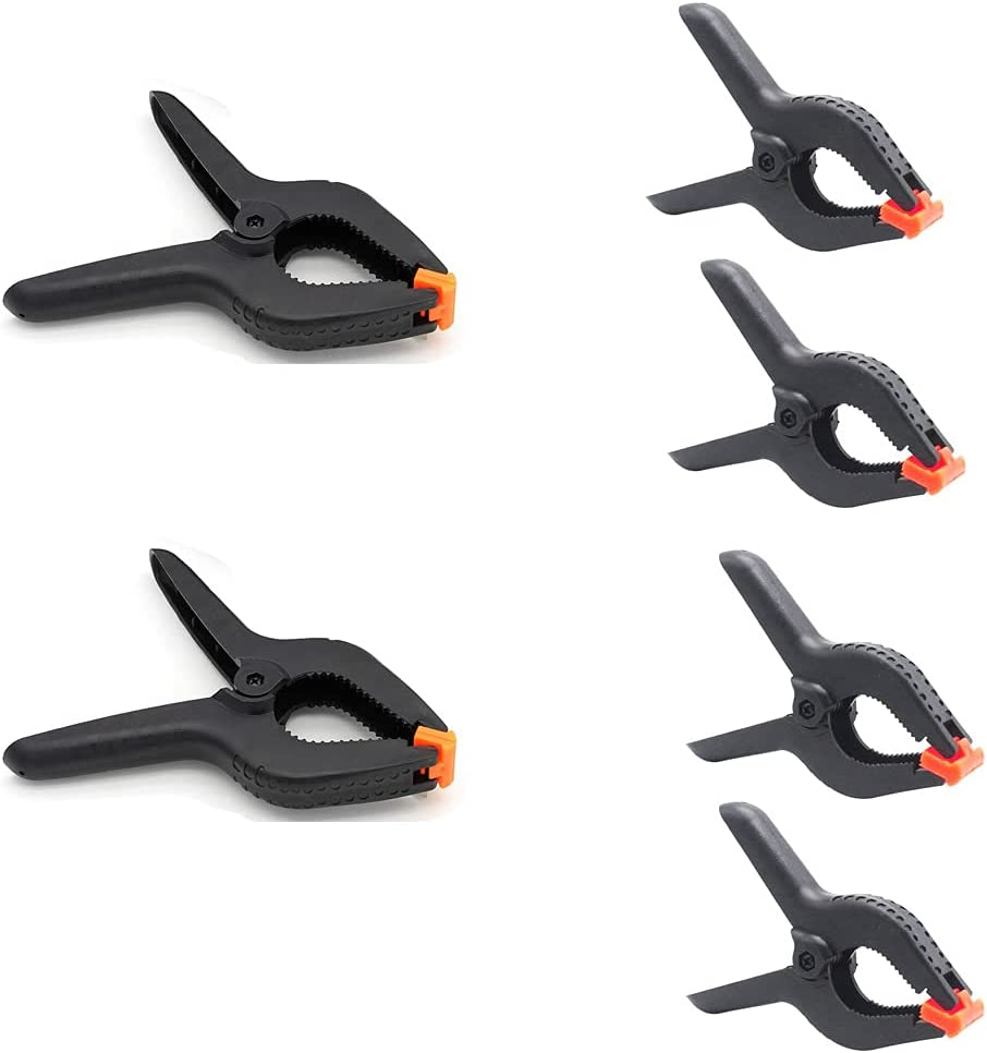 Large Ranking TOP10 Spring Clamps Set Max 77% OFF Heavy Studio Duty for Photo Woodworking