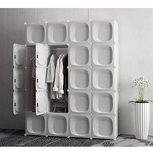 %32 OFF! Xnxn Closet Shelves Organizer, Portable Clothes Wardrobe Armoire Cube Storage Armoire Cabin...