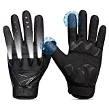 LED Flashlight Gloves for Men Women, 3 Modes Adjustable Controller, Upgraded 3.7V 230mAh USB Rechargeable Gloves for Outdoor Sports Cycling, Hiking, Camping, Fishing, Running