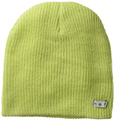 NEFF Daily Beanie Hat for Men and Women, Lime, One Size