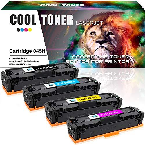 Koel Toner Compatibel Toner Cartridge Vervanging voor Cartridge Canon 045 045H CRG-045H CRG-045 voor Canon i-SENSYS MF634cdw MF632cdw 633cdw 635cx, LBP611cn, LBP613cdw, LBP612cdw, MF631cdw MF636cdwt