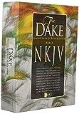 Dake NKJV Black Bonded Leather, Medium Print