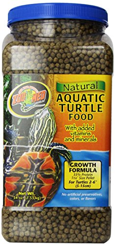 Zoomed Food Natural Aquatic Turtle Crescita - 1.98 gr