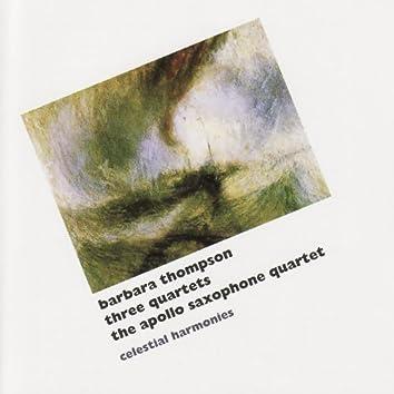 Thompson: Three Quartets