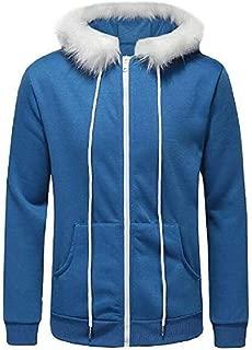 Dahee Leisure Fashion Blue Cool Hoodies for Men Hot Game Cosplay Costume Sweatshirt Sweater Halloween Christmas