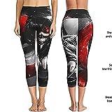 ArcherWlh Leggings Push Up Mujer,Anime periférico impresión Digital 3D Cuatro Agujas Seis líneas Mujeres Europeas y Americanas Ropa de Yoga Pantalones Ajustados-4#_S