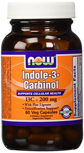Now Foods Indole-3-carbinol (I3c) 200 Mg 60 X 2