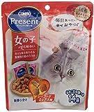 コンボ プレゼント キャット 女の子 シーフードミックス味 42g(3gx14袋)