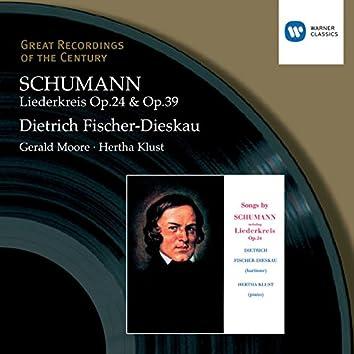 Schumann: Liederkreis, etc