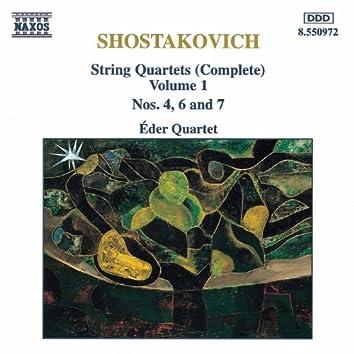 SHOSTAKOVICH: String Quartets Nos. 4, 6 and 7