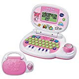 Vtech - 139555 - Jeu électronique - Ordinateur P'tit - Genius Ourson - Rose - Version FR