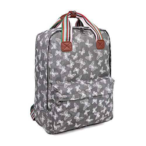 Viva London London Womens Girls Waterproof Rucksack Backpack School Bag...