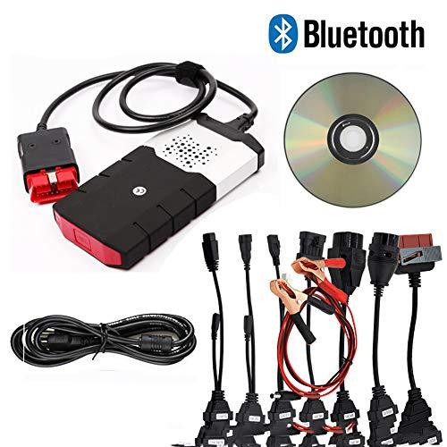 DS150 2016R TCS CDP mit Bluetooth DS150E + 8 Stück Autokabel Autodiagnosekabel und Stecker, OBD2-Kabel.