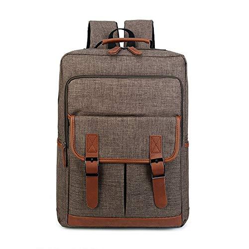Casual schouder-laptoptas voor heren met grote capaciteit.