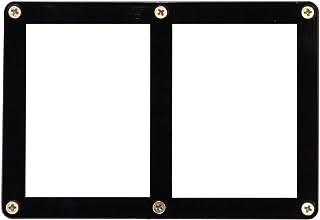 ウルトラプロ 黒枠フレーム カード2枚用スクリューダウン