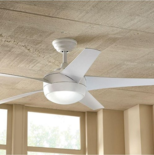 Home Decorators Collection Windward IV 52' Matte White...