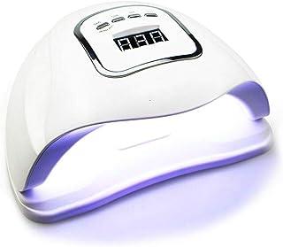 Secadores de uñas 150w Led lámpara de uñas secador de uñas manos duales 45 piezas Leds lámpara uv para curar Uv Gel Esmalte de uñas con detección de movimiento Lcd Display / x5max