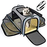 OMORC Sac de Transport Chat Chien Extensible, Structure Solide, Rangement Facile, Filet Respirant,...