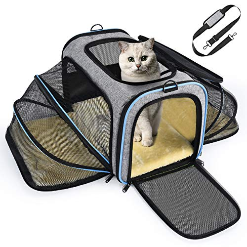 OMORC Sac de Transport Chat Chien Extensible,...
