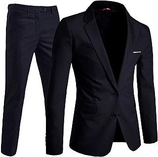 Keskin Collection Men's Suit Black Slim Fit