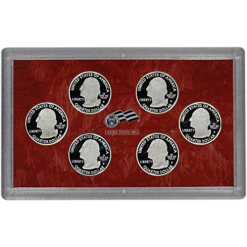2009 S Silver Quarters Proof Set - District of Columbia and 5 US Territories - 6 coins - Quarters GEM Proof No Box or COA US Mint Coin Box Coa No Coins