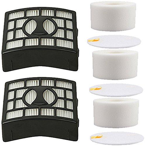 YOKYON 2Pk Foam & Felt Filters Replacement Kit for Shark Rotator Powered Lift-Away Speed NV683, NV682, NV681, NV680, NV800, NV801, NV803, UV810 Vacuum Cleaner,Compares to # XFF680 & XHF680