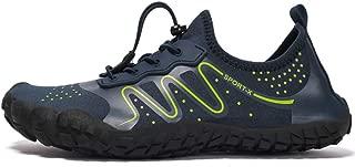 Mens Poseidon Water Shoes Mesh Quick Dry Hiking Shoes Barefoot for Swim Diving Surf Aqua Sports Pool Beach Walking Yoga Shoes
