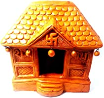 ACHLA RAM KUMHAR 'Hut' Handmade Living Room and Wall Decorative Office, Home Showpiece
