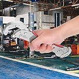 自動調整スパナユニバーサルパイプレンチ機械修理ツール多機能0.4-1.8インチジョー容量パイプナットボルト用マジックレンチ
