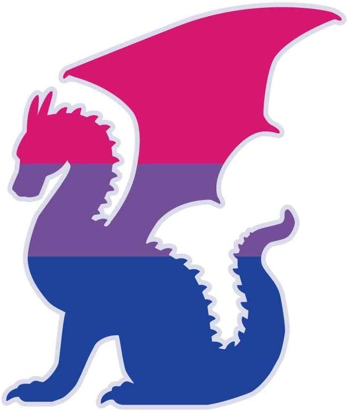 "Asexual Sticker 5.5/"" Dinosaur Flag LGBTQIA Demi Pride LGBT Nonbinary Decal"