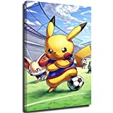 STTYE Poster de chambre de fille Pokémon - Sans cadre - Cadeau idéal pour la décoration de salle de bain - 40,6 x 61 cm