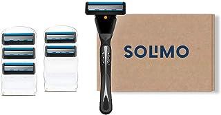 Amazon-merk - Solimo Heren 5 Blade Razor + 6 navullingen