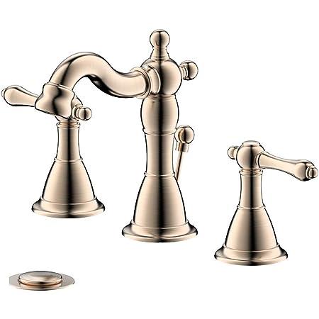 Household Bathroom Plastic Water Tap Faucet Handgrip Handle Silver Tone 2 Pcs