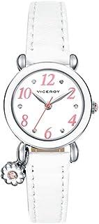 Watch Viceroy 46898-04 girl White Leather Quartz