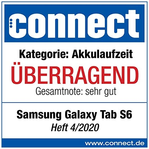 Samsung Galaxy Tab S6 WiFi 128GB, Tablet-PC Blue, Android 9.0 (Pie) 12