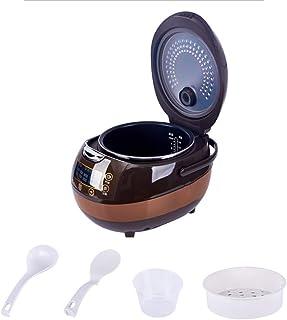 Dljyy Olla Arrocera Inteligente del hogar Antiadherente con Funciones de cocción múltiples, Pantalla LED for 2-8 Personas (5L)
