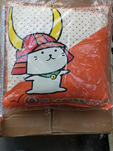 正規品 ひこにゃん レザー クッション 国宝 彦根城 築城 400年祭 Hikonyan Hikone Castle 座ぶとん cushion cat 猫