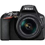 Nikon D3500 + AF-P 18–55 Kit d'appareil-Photo SLR 24,2 MP CMOS 6000 x 4000 Pixels Noir - Appareils Photos numériques (24,2 MP, 6000 x 4000 Pixels, CMOS, Full HD, 365 g, Noir)