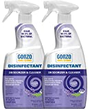 Gonzo Disinfectant Spray & All Purpose Cleaner - 24 Ounce (2...