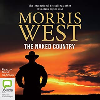 The Naked Country audiobook cover art