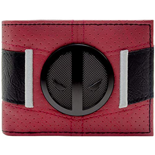 Cartera de Marvel Deadpool Traje hasta la Correa Rojo