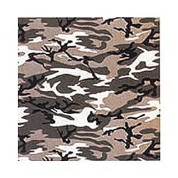 Urban Grey Camouflage Bandana
