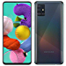 Samsung Galaxy A51 A515F 128GB DUOS GSM Unlocked Phone w/ Quad Camera 48 MP + 12 MP + 5 MP + 5 MP (International Variant/US Compatible LTE) - Prism Crush Black (Renewed)