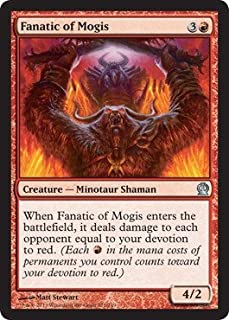 Magic: the Gathering - Fanatic of Mogis (123/249) - Theros - Foil