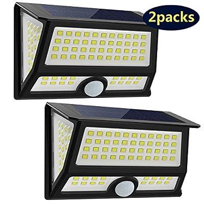 CREATIVE DESIGN Solar Lights Outdoor, 102 LED S...