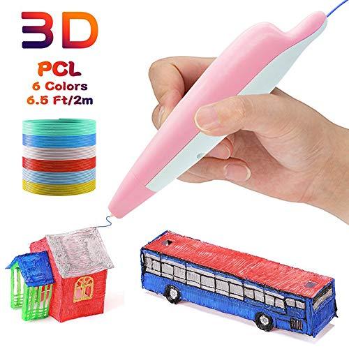 3D pennenset voor beginners volwassenen, 3D pen als creatief cadeau voor volwassenen, hobbyisten om te knutselen, schilderen en 3D pers