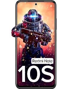 Redmi Note 10S (Shadow Black, 6GB RAM, 64GB Storage) - Super Amoled Display | 64 MP Quad Camera
