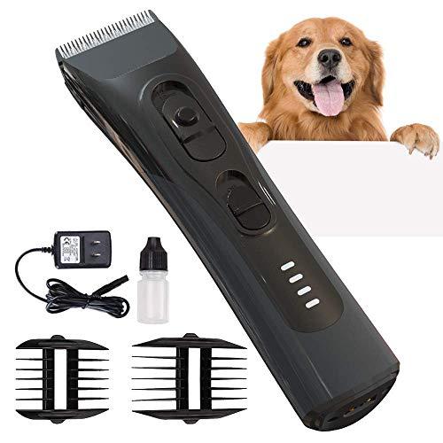 Premium Tosatrice per Cani Professionale Kit Toelettatura Cani Gatti Animali Tosatore per Cani Pelo Lungo Dog Grooming Clippers