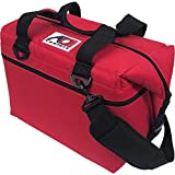 AO Coolers Original Soft Cooler with High-Density Insulation, Red, 24-Can