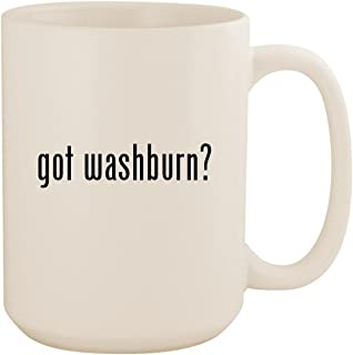 got washburn? - White 15oz Ceramic Coffee Mug Cup